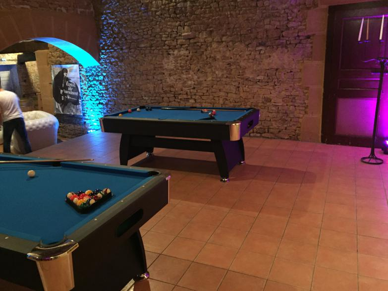 Location de billards Lyon